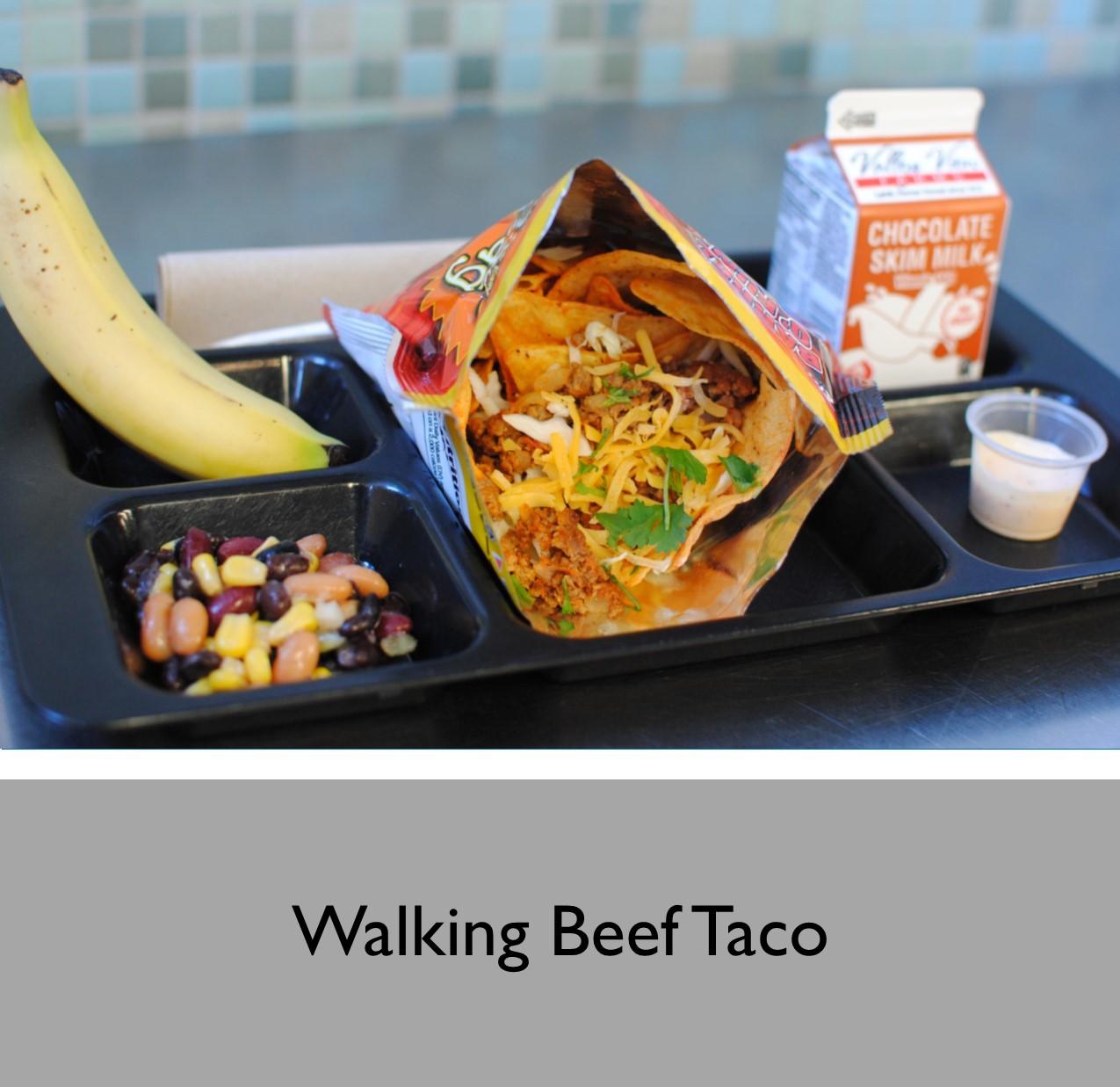 Walking Beef Taco