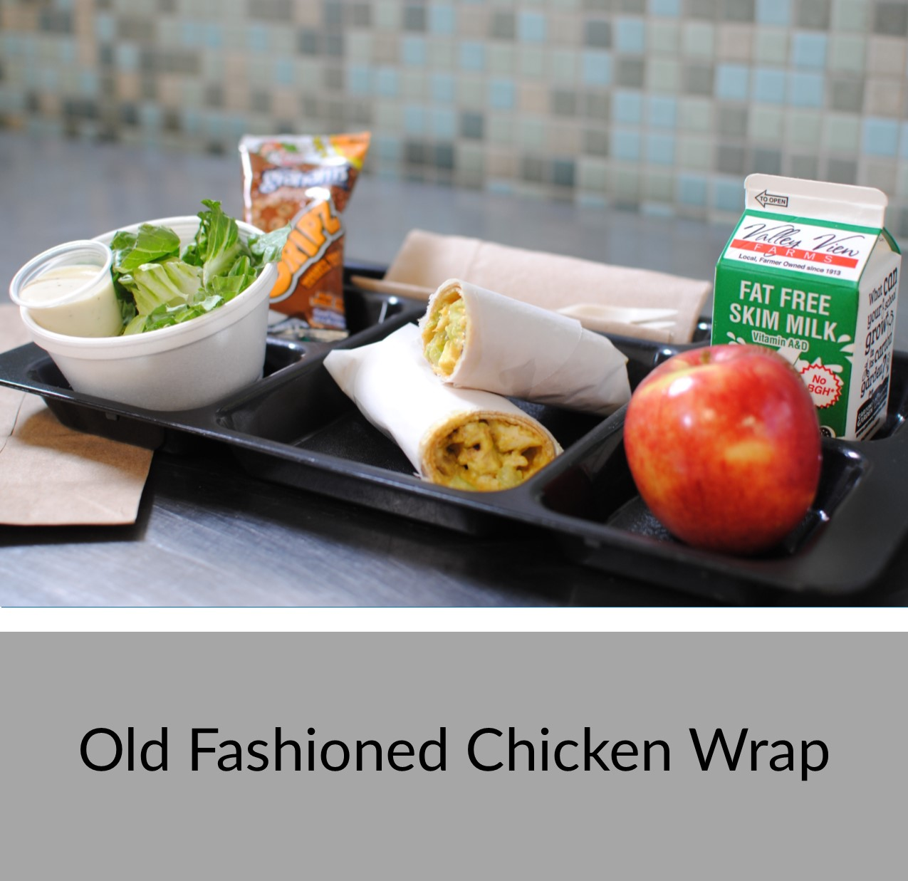 Old Fashioned Chicken Wrap