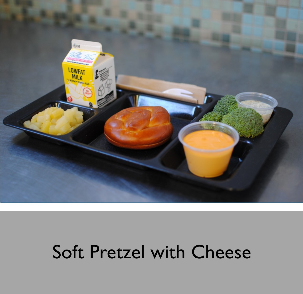 Soft Pretzel with Cheese