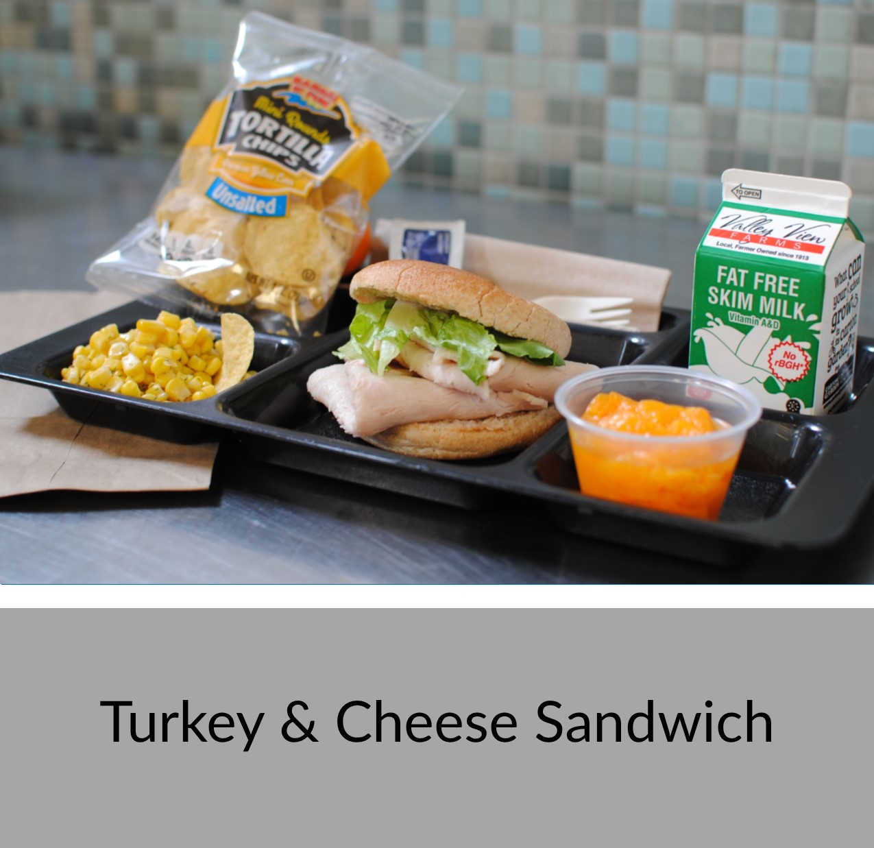 Turkey and Cheese Sandwich