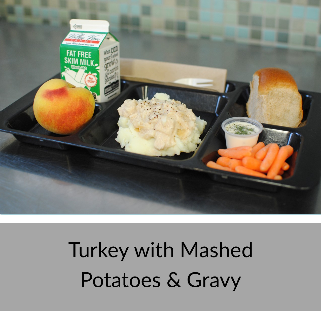 Turkey with Gravy & Mashed Potatoes