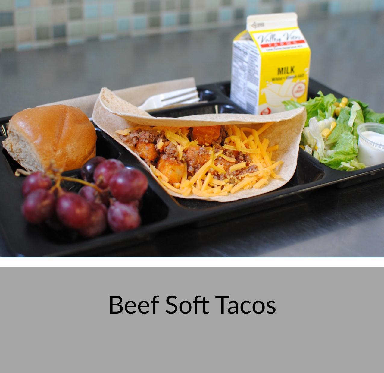 Beef Soft Tacos